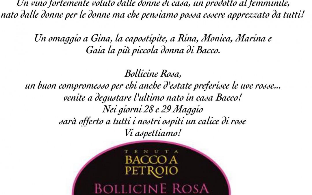 Cantine Aperte 2016 Bollicine Rosa vino spumante extra dry
